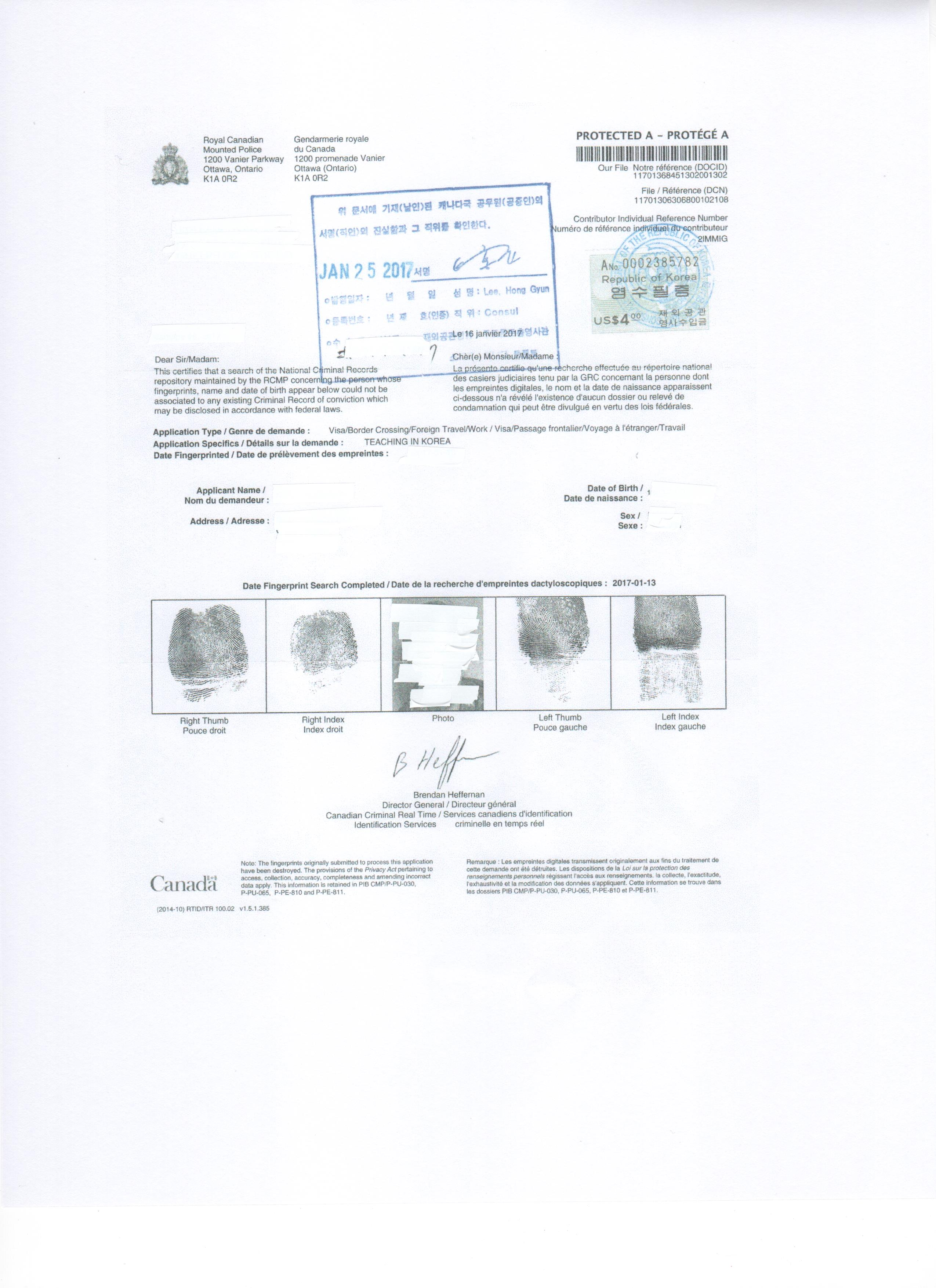 Aclipse Canadian Document Examples